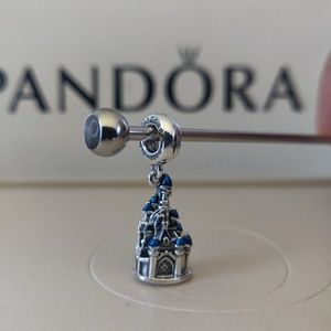 Pandora Disneyland Paris Castle Dangle Charm